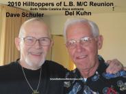Schuler, Dave 2010 Hilltoppers MC Reunion, 1958 Catalina entrant & Del Kuhn