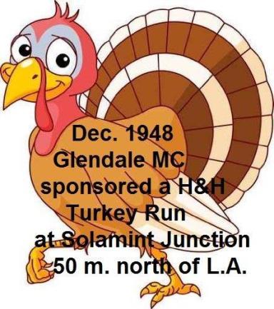 1948 12-15 a1 Glendale MC sponsors a H&H Turkey Run