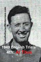 1949 3-20 a38 English Trials, 4th Albert L. Titus, Royal Riders at Lakeland Park
