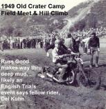 1949 a1 Russ Good at Old Crater Camp