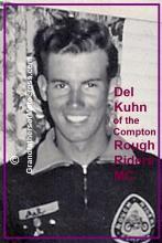 1950 3-19 a4 event 1947 Del Kuhn, a member of the Compton Rough Riders MC - Copy