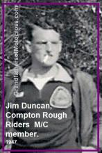 1950 3-19 a5 event 1947 Jim Duncan, a member of the Compton Rough Riders MC