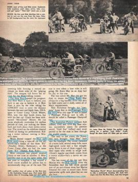 1950 6-0 CC11 Old Crater Camp story FIELD MEET