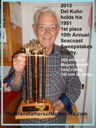 1951 4-15 a13 Trophy, 2013 Del holds Hollywood MC 10th Seacoast Sweepstakes Kuhn
