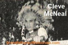 1951 6-0 cc2d WINNER Cleve McNeal, a Native American who won Crater Camp Field Meet