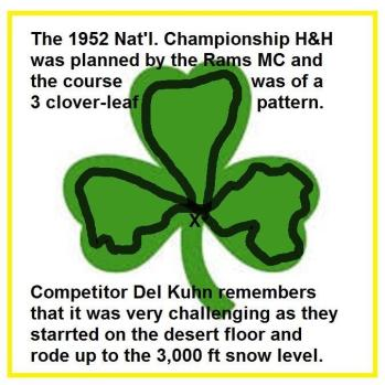 1952 12-7 a4b Course was a 3 cloverleaf pattern, like a fig 8 with extra loop