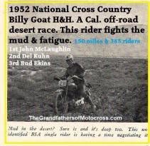 1952 12-7 a5d Billy Goat National Cross Country H&H mag. 1953 Jan