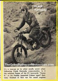 1952 12-7 a9 Billy Goat National H&H Frank Kennedy on sm. motor