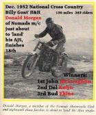 1952 12-7 b5 Donald Morgan of Nomads MC Billy Goat National H&H