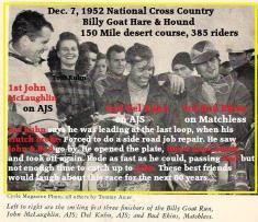 1952 12-7 d9b Cant win them all, Kuhn 2nd, Natl. H&H, McLaughlin, Bud Ekins