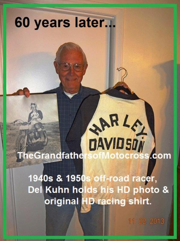 1953 2-1M2 but 2014 HD black and white HD shirt Del wore 1953