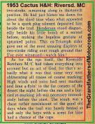 1953 2-1h1 Cactus H&H, Bill Henderson, thanks to Riverside Bombers MC
