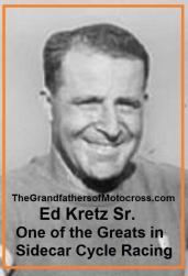 1953 6s Sidecar Expert Ed Kretz Sr