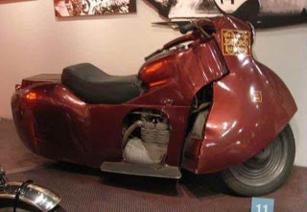 c0 The Jordan motorcycle at Petersens Museum