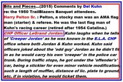 c9 Trailblazers 1950 3-25M Kuhn comments re CHP LeGrand Jordan