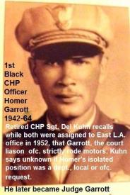 c9b 1952 b1 Kuhn knew both CHP officers LeGrand Jordan & Homer Garrott, first Black CHP Officer, all same office, same time
