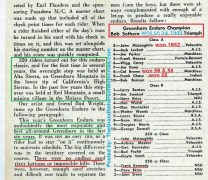 1954 a19 Greenhorn Results, E. FLANDERS, C. Brown, F. Chase, D.no rivers or impossible hills