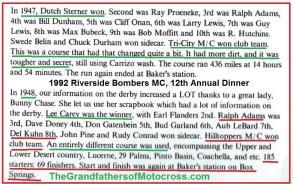 1992 4-25 a15 CACTUS DERBY 1948 history