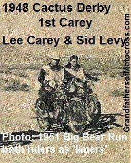 1992 4-25 a17 1948 Cactus Derby WINNER Lee Carey