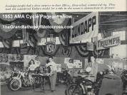 AMA 1953 4-0d AMA cycle pageant, Zundapp, water proof Enduro model
