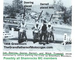 1956 a10 Greenhorn, Doering, Darnell, Truesdall at Greenhorn Mountain
