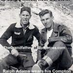 1957 6-1a10 Long time friends, Ralph Adams & Del Kuhn 1947 Calico Mines