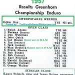 1957 6-1a8 Eddie Day Greenhorn wins & results, Ralph Adams, Norman Reeves