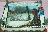 Dels 90th bday cake