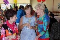 Marcia, Kathy & Iris visit