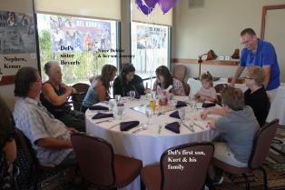 Kurt & family, Beverly & family