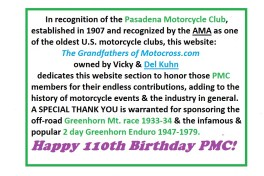 1907 a1 2017 PMC thank you & Happy 110th birthday
