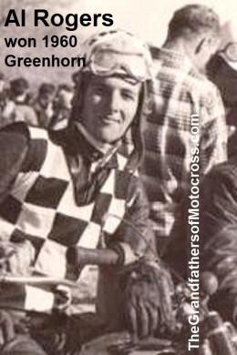 1960 Greenhorn 2b Al Rogers, Checkers MC won 1960 Greenhorn