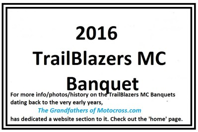 2016 a1 TrailBlazers Banquet