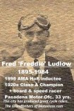 M20 Pasadena PD police Fred Ludlow 1998 AMA 1920s speed racer,