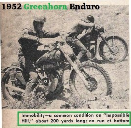 1952 Greenhorn a5 IMPOSSIBLE HILL