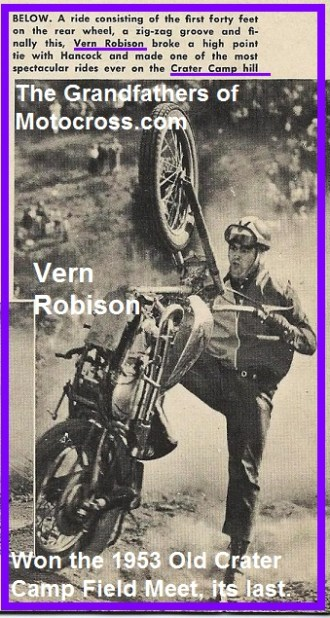 1953 6-d Vern Robison, last Field Meet at Old Crater Camp