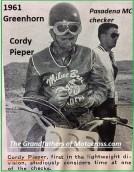1961 Greenhorn 17 Cordy Pieper. 1st in lightweight division