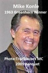 1963 Greenhorn a2 winner Mike Konle at 2009 TrailBlazers