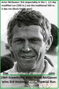 1964 Greenhorn z20 S. McQueen 3rd AMATEUR special 350 m