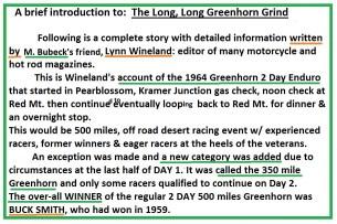 1964 Greenhorn z37 The full story by Lynn Wineland