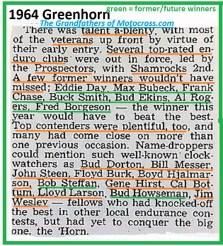 1964 Greenhorn z49 Day, B. Ekins, Borgeson, Dorton