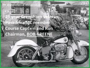 1964 Greenhorn z52 AMA Bob Greene & CHP motorcycle
