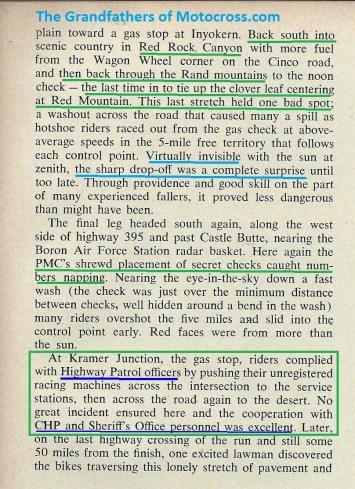 1965 a20 Greenhorn, Red Rock & Mt. Kramer Junction, CHP, Sheriff