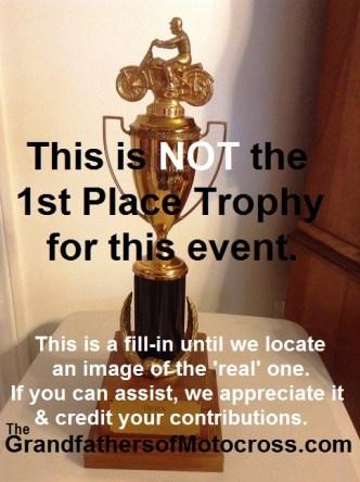 1965 a5a No 1965 Greenhorn trophy to show