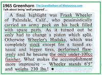 1965 b11 GH FRANK WHEELER well prepared, only 100cc winner