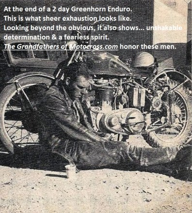 1965 b14 of earlier Greenhorn, same result, exhausted rider