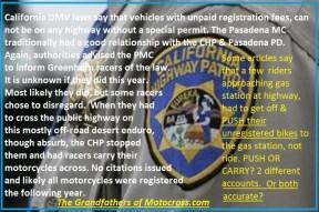 1965 b8 CHP ofcs. insist riders follow registration law