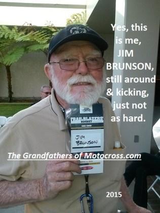 1965 e1 Greenhorn winner Jim Brunson in 2015 says Hi
