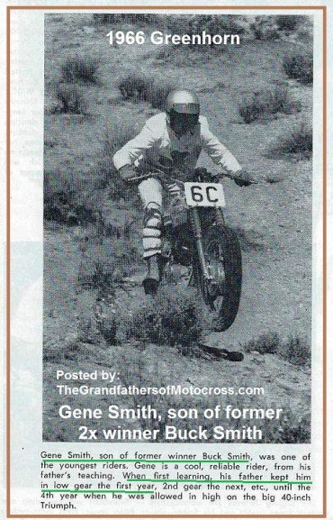 1966 r12 Greenhorn GENE SMITH, son of Buck Smith
