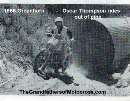 1966 r17b Greenhorn, Oscar Thompson out of pipe tunnel